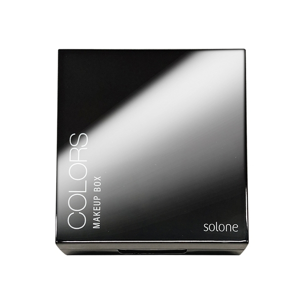 Solone熱愛玩色4格彩盒(銀河黑)