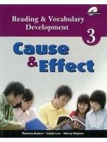 二手書博民逛書店《Reading & Vocabulary Development 3: Cause & Effect - Asia Edition》 R2Y ISBN:9789814272605