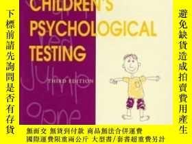 二手書博民逛書店Children s罕見Psychological Testing : A Guide For Nonpsycho
