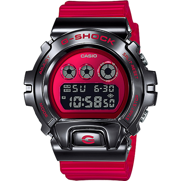 CASIO 卡西歐 G-SHOCK DW-6900 25周年金屬手錶 GM-6900B-4