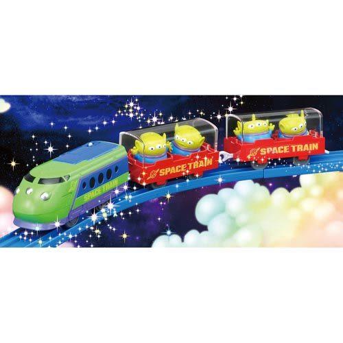 聖誕禮物 Disney x PLARAIL 三眼怪可愛列車_ DS81454