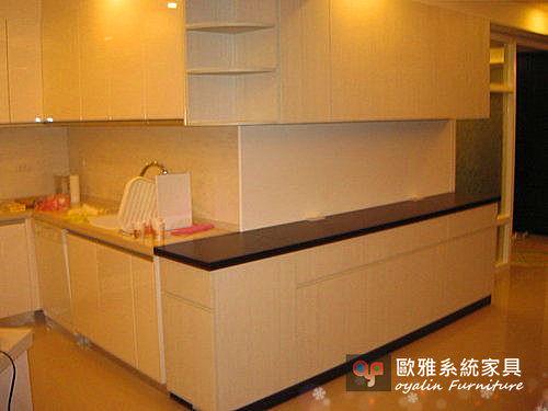 【歐雅 系統家具 】多功能廚具上下餐邊櫃