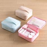 居家家牛津布防水化妝包簡約化妝品包旅行便攜化妝品護膚品收納包