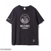 MIZUNO 男裝 短袖 上衣 T恤 1906系列 棉質 TAIWAN 黑【運動世界】D2TA000509