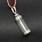 4公分 鋼合金 玻璃 嘎嗚管 佛龕 吊飾 項鍊