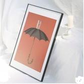 極細窄邊鋁合金相框立體海報寫真裝裱畫框 QW6472『夢幻家居』