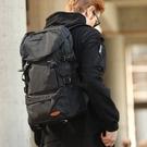 大容量雙肩包男行李旅游背包簡約休閒書包潮戶外輕便登山女旅行包 夢幻小鎮