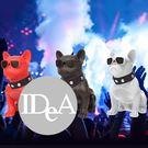 IDEA 法國鬥牛犬造型音響 音箱 法鬥 鬥牛犬 藍芽 FM收音機 廣播 無線喇叭音響 重低音
