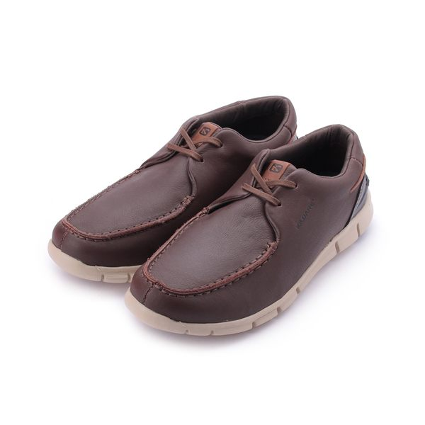巴西KILDARE SOFT SADDLE BLACK 軟皮繫帶休閒鞋 深咖 BK6901-SA 男鞋