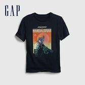 Gap男童 Gap x Star Wars星際大戰系列短袖T恤 682089-海軍藍