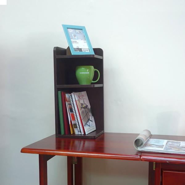 品味玩家-桌上 三層轉角收納櫃 桌上角落櫃