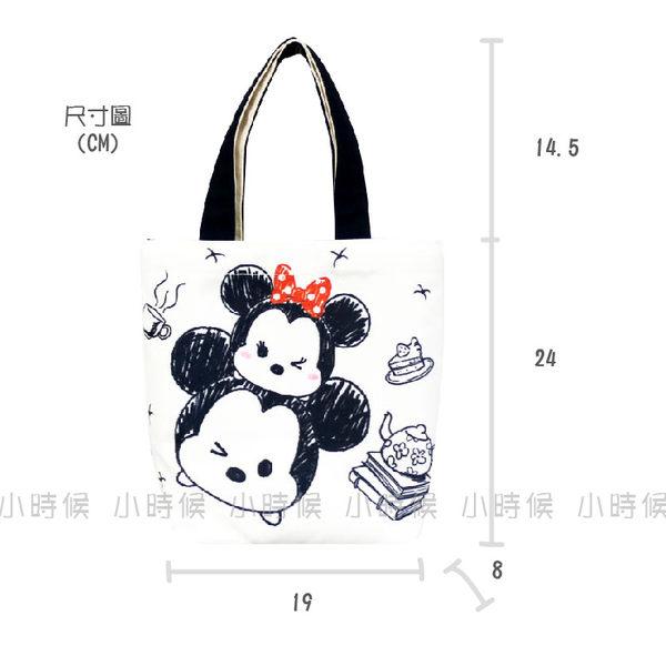 ☆小時候創意屋☆ 迪士尼 正版授權 三眼怪 TSUM TSUM 帆布 手提袋 手提包 環保 便當袋