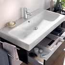 【麗室衛浴】GEBERIT ICON 124075000 可掛壁面盆 原裝進口