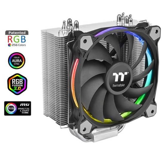 【超人百貨F】Riing Silent 12 RGB 主機版連動Sync版 CPU散熱器CL-P052-AL12SW-A