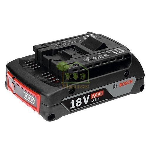 [ 家事達 ] 德國 BOSCH 鋰電池18V,2.0Ah(單入裝)  特價