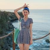 仙女范泳衣 女保守學生2020新款遮肚顯瘦泳裝韓國ins爆款連體游泳 【ifashion·全店免運】