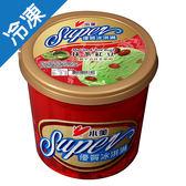 小美SUPER優質冰淇淋抹茶紅豆650【愛買冷凍】