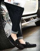 豆豆鞋男新款夏季韓版百搭社會鞋子精神小夥懶人一腳蹬棉鞋男   東川崎町