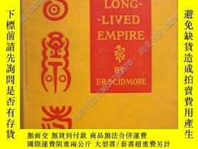 二手書博民逛書店【罕見】《中國 長壽帝國》1900年1版 含圖60多幅 CHIN