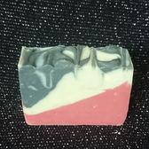 竹炭玫瑰粉冷製手工皂