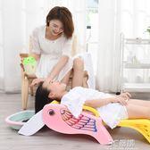 兒童洗頭椅寶寶洗頭床小孩洗發床洗頭躺椅嬰兒洗發椅加大可摺疊HM 時尚芭莎