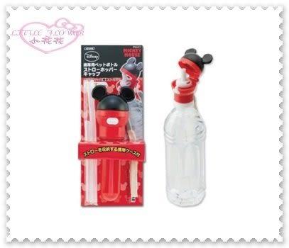 ♥ 小花花日本精品♥ Hello Kitty 米奇隨身吸管 攜帶型吸管瓶蓋 寶特瓶吸管大人/兒童皆可使用45609305