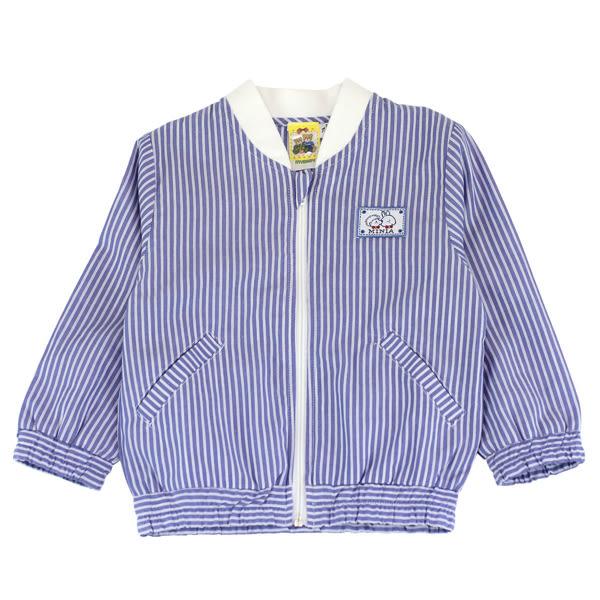 【愛的世界】純棉直條紋夾克/2~4歲-台灣製- ★春夏上著  夏殺2折起