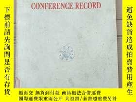 二手書博民逛書店1976罕見IEEE region six conference record(P2690)Y173412