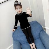 女童套頭毛衣2018秋冬新款加絨加厚針織打底衫中大童兒童韓版線衣