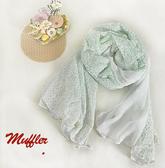 圍巾【TAF001】抗UV小碎花絲巾 123ok