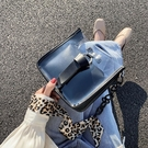 上新時尚透明果凍小包包女新款正韓時尚潮流休閒鏈條包單肩斜挎包-Ballet朵朵