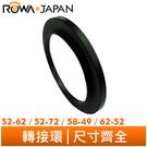 ROWAJAPAN 轉接環【52→72m...