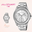 JILL STUART方晶鋯石時尚銀腕錶...