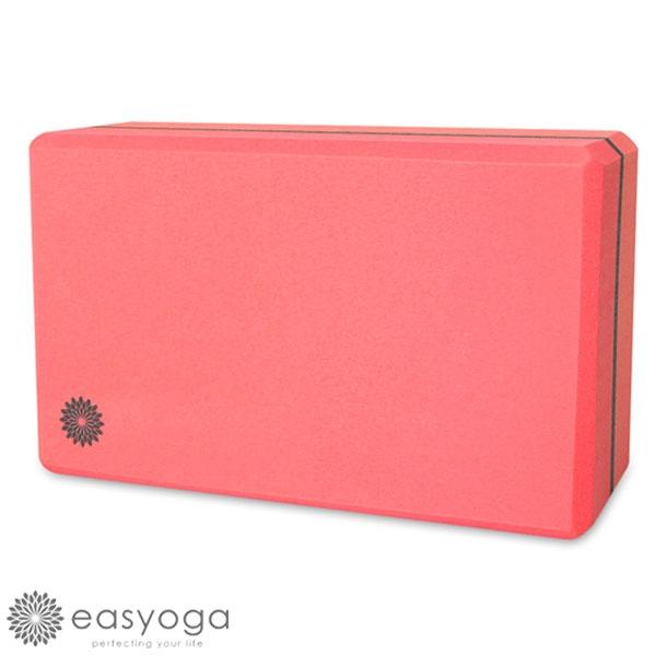 easyoga 瑜珈墊 高優質瑜珈磚 50D - 玫瑰粉