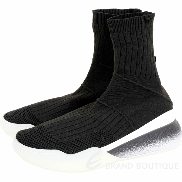Stella McCartney Loop 彈性針織面料襪套運動鞋(女款/黑色) 1920001-01
