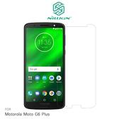NILLKIN Motorola Moto G6 Plus 超清防指紋保護貼 套裝版 含鏡頭貼 螢幕膜 高清貼
