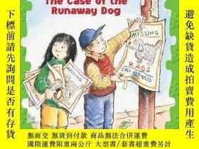 二手書博民逛書店The罕見Case of the Runaway Dog (Jigsaw Jones Mystery #7)-離家