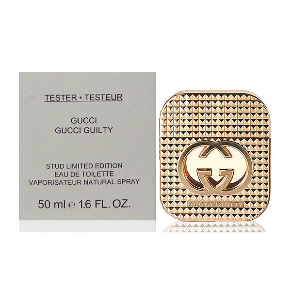 Gucci Guilty Stud Edition 罪愛女性淡香水限量版 50ml Tester 包裝