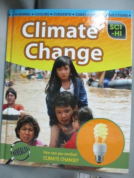 【書寶二手書T3/少年童書_QEK】Climate Change (Sci-Hi)_Eve Hartman, Wendy Meshbesher