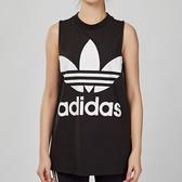 Adidas Originals 女款 黑白 基本款 三葉草 背心 CE5578