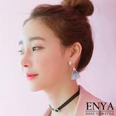 細緻感蕾絲耳環Enya 恩雅正韓飾品【EASS7 】
