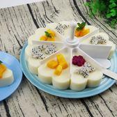 聖誕繽紛節❤蛋糕盤壽司模具套裝 創意心形壽司模 烘焙果凍布丁杯千層飯團模具