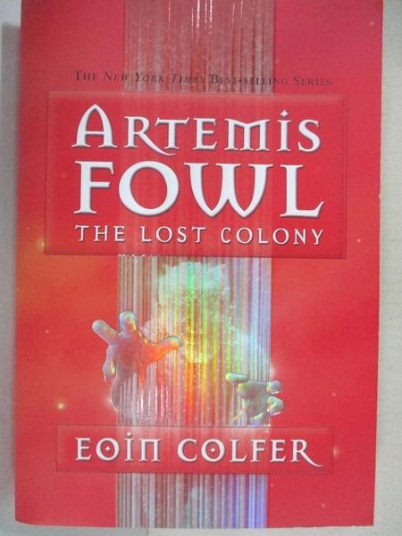 【書寶二手書T1/原文小說_GWG】The Lost Colony_Colfer, Eoin