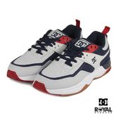 DC 新竹皇家 E.TRIBKA 灰/藍色 皮質 麂皮 拼接 休閒鞋 男款 NO.B0130