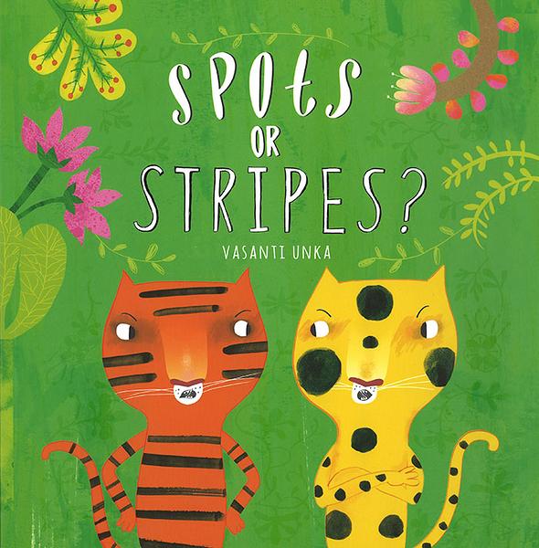 SPOTS OR STRIPES? /平裝繪本《主題: 自我認同.幽默.》