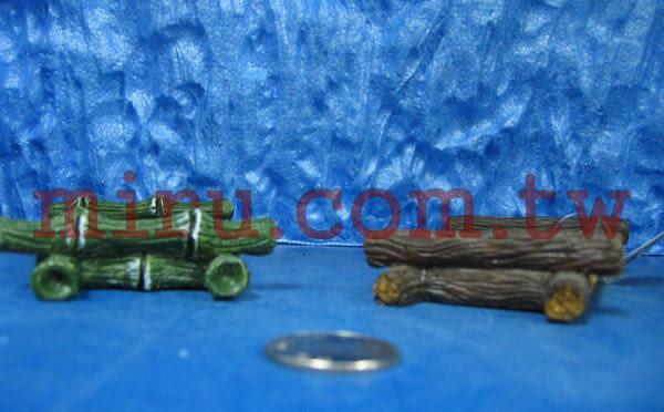 【西高地水族坊】雅柏UP代理 造景擺設 波麗纖維製品 竹、木水草盆(大)