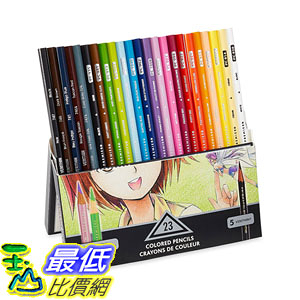 [104美國直購] Prismacolor 1774800 Premier Soft Core Colored Pencil, Set of 23 Assorted Manga Colors 色鉛筆