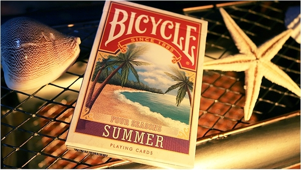 【USPCC 撲克】BICYCLE FOUR SEASON SUMMER Playing Cards LTD 四季 夏