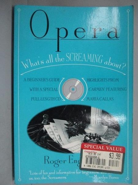 【書寶二手書T2/藝術_JNE】Opera_Roger Englander