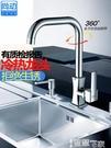 特賣水龍頭廚房水龍頭家用洗菜盆龍頭冷熱水槽碗池單冷全銅洗手盆 304不銹鋼